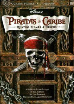 Quadrilogia Piratas do Caribe