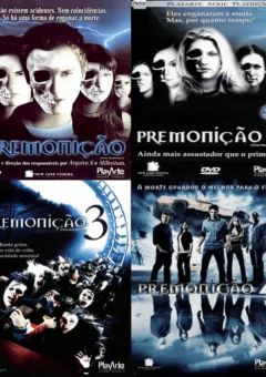 Coleção Completa Premonição 5 Filmes