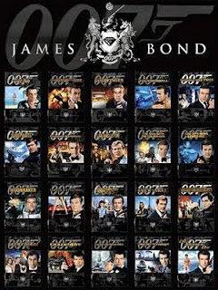 Coleção Completa 007 James Bond 24 Filmes