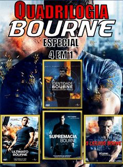 Coleção Completa – A Identidade Bourne